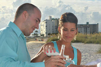 Siesta Key Officiant & Sand Ceremony