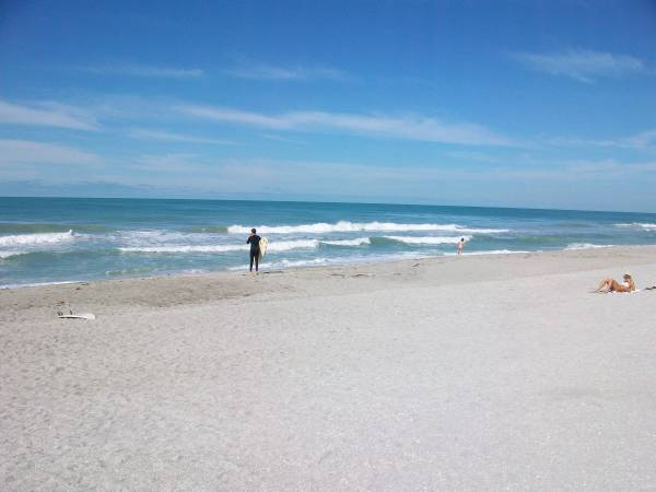 Turtle Beach Blue Waves In Sarasota Florida