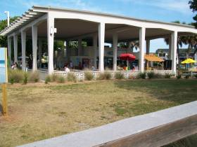 Siesta Beach's Covered Pavilion