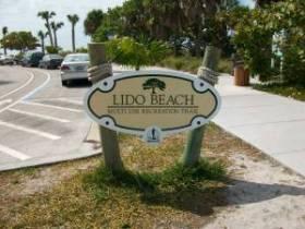 Lido Beach in Sarasota Florida