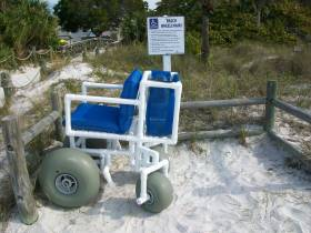Beach Wheel Chair for Transport