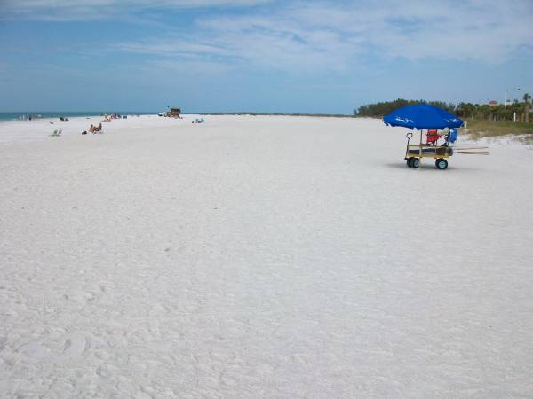 Beautiful, Wide & Tranquil - Lido Beach is Great for Weddings & Vow Renewals