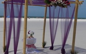 Lido Key Beach Wedding Package Image