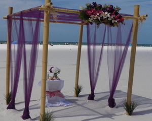 Lido Key Beach Wedding Package Image
