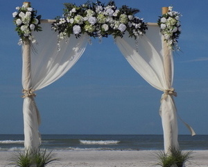 White Dove Wedding on the Beach Package