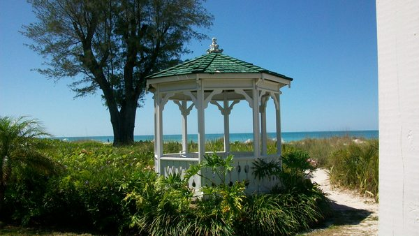 Weddings at the Gazebo - Harrington House in Anna Maria Fl