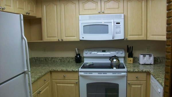 Updated Kitchens in most units