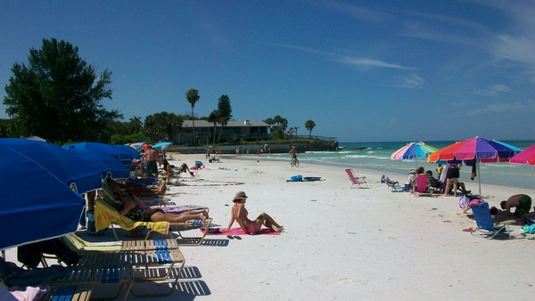 Siesta key beach area