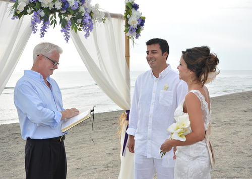 Siesta key, Sarasota Wedding Officiant