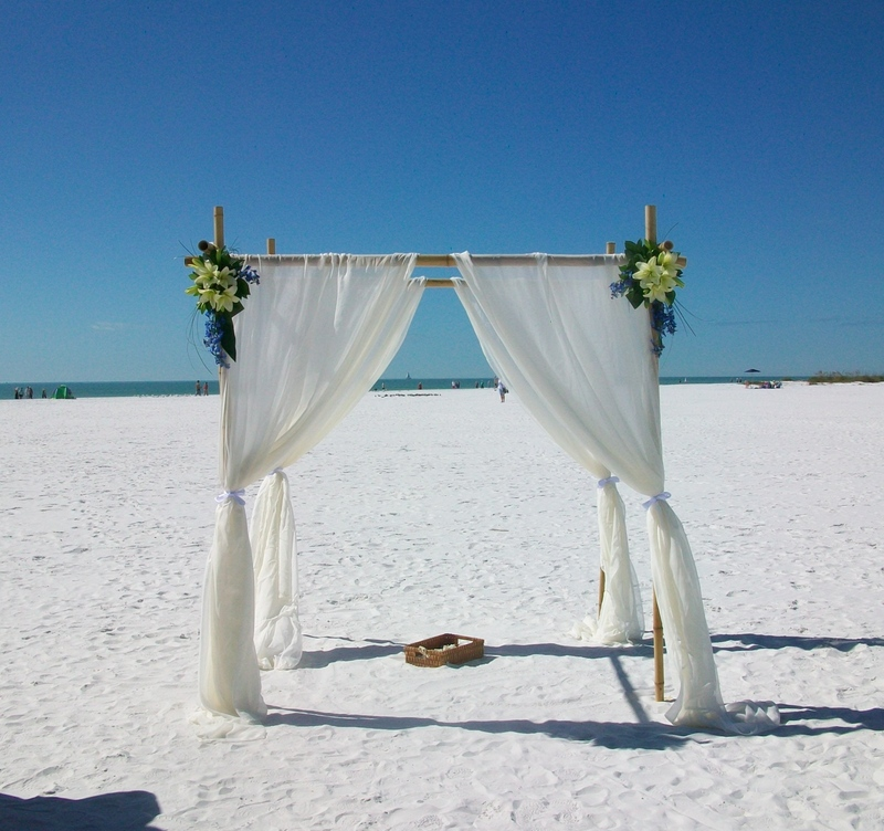 Simply Elegant Beach Wedding Package by SarasotaWeddingIdeas.com