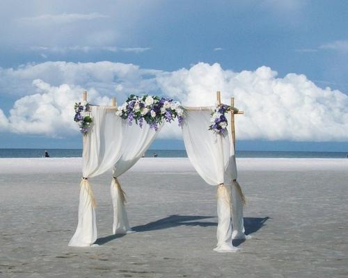 Bellevue Breese Beach Wedding at SarasotaWeddingIdeas.com