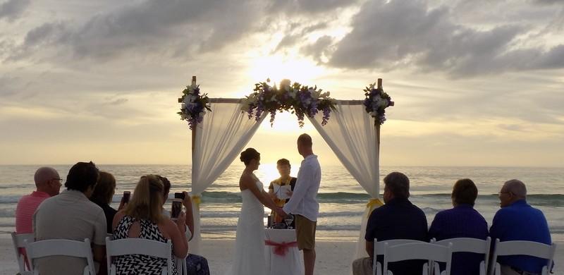 Affordable Beach Weddings Island Getaway Package Sarasota