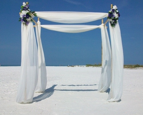 Mont Blanc Beach Wedding Package