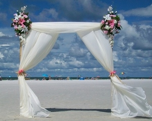 Sarasota beach weddings, Tortuga Package
