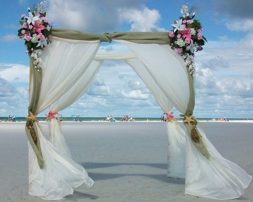 Siesta La Boda Package & Arch Design