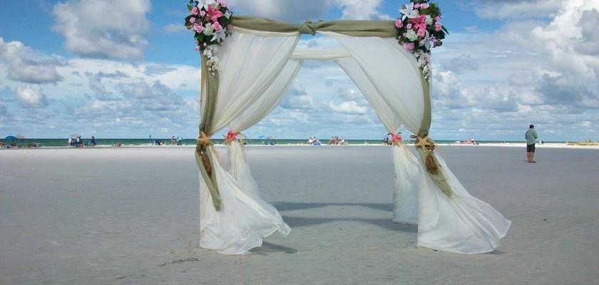Affordable Beach Weddings Siesta La Boda Package