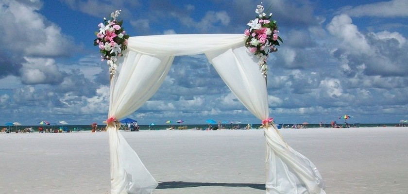 Sarasota, Siesta Beach Weddings: Tortuga Package
