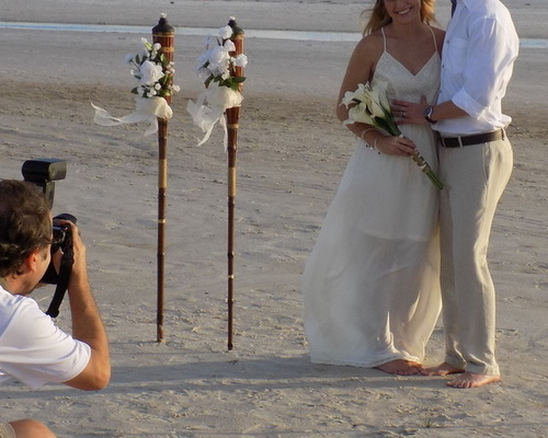 Siesta key Tiki Wedding Package Image