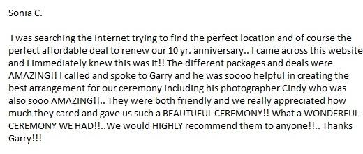 Siesta key beach wedding ceremony review
