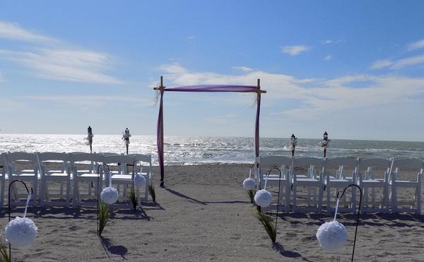 Siesta key beach wedding package. The Palm Bay. Image 1