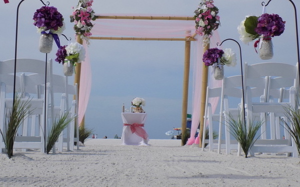 Affordable Lido key beach wedding package Image 1