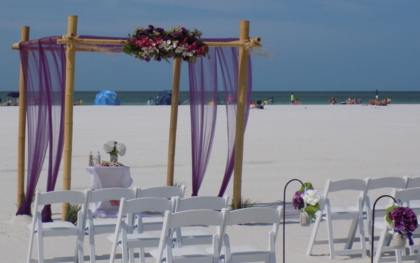 Beach Wedding Officiant & Minister for Sarasota Area Beach Weddings Image 1