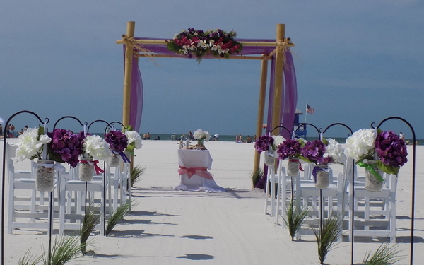 Beach wedding Lido Key Package Image 1