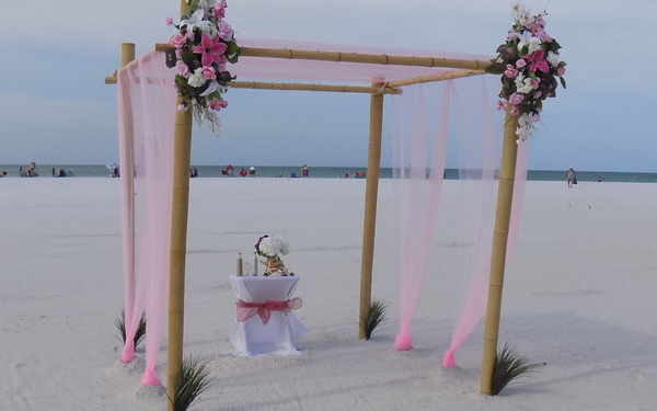 Sarasota Beach Wedding Officiant & Wedding Packages Image 1