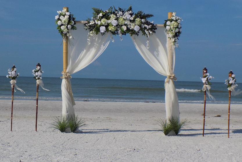 White Dove Beach Wedding