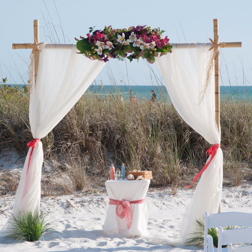 Sarasota beach wedding packages