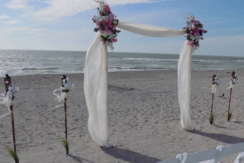 Tortuga Beach Wedding Package