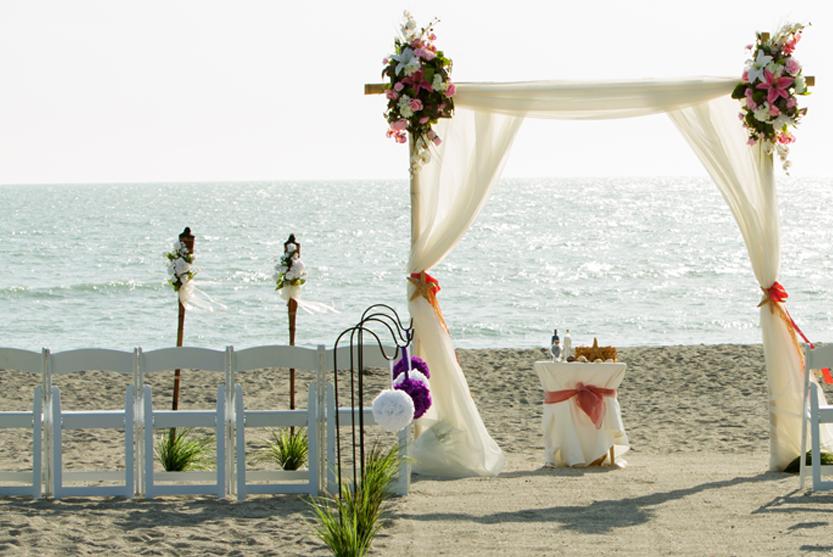 Tortuga Beach Wedding Package
